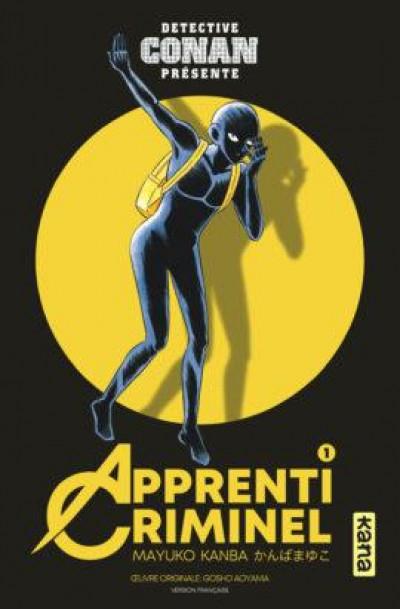Couverture Détective Conan présente apprenti criminel tome 1