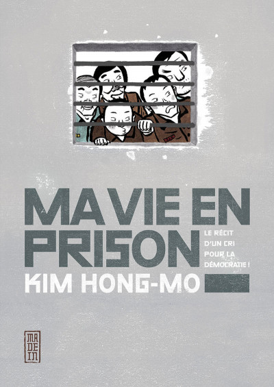 Couverture Ma vie en prison
