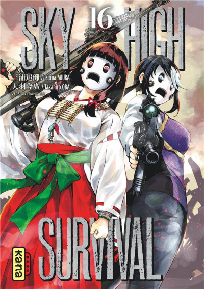 Couverture Sky-high survival tome 16