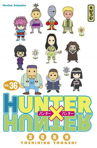 Couverture Hunter X hunter tome 36