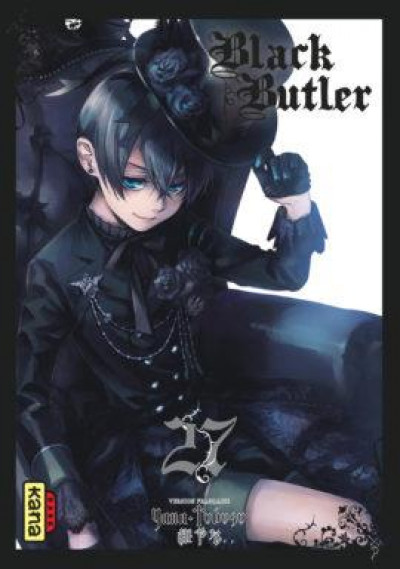 Couverture Black butler tome 27