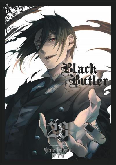 Couverture Black butler tome 28