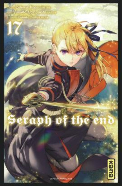Couverture Seraph of the end tome 17