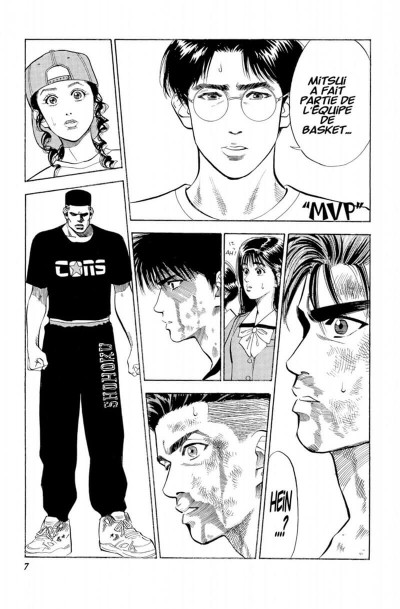 Page 7 Slam dunk - star édition tome 6