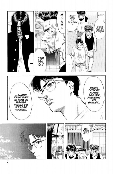 Page 9 Slam dunk - star édition tome 6