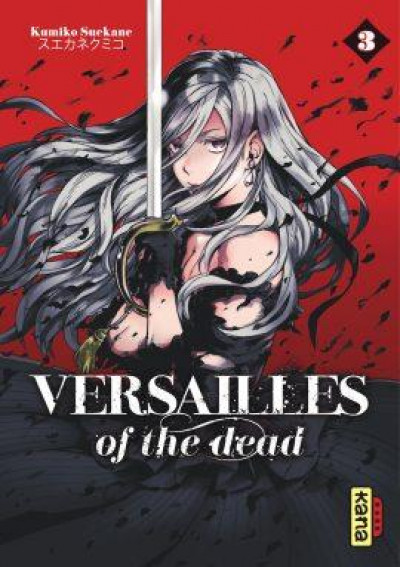 Couverture Versailles of the dead tome 3