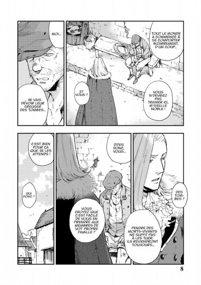 Page 8 Versailles of the dead tome 3