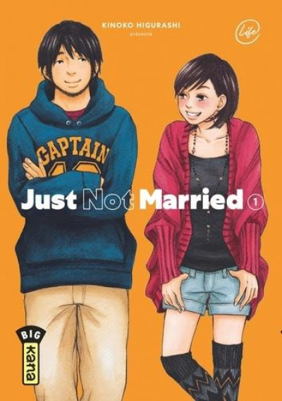 Couverture Just not married tome 1