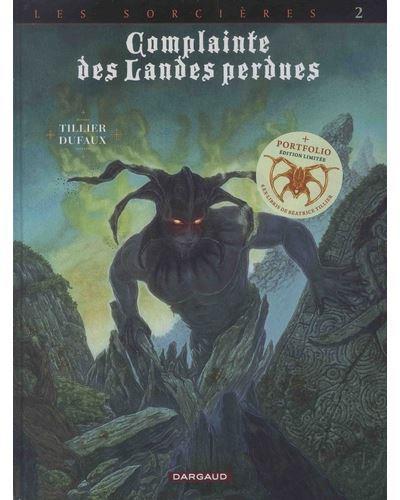 Couverture Complainte des landes perdues - Cycle les sorcières - édition spéciale avec portfolio tome 2