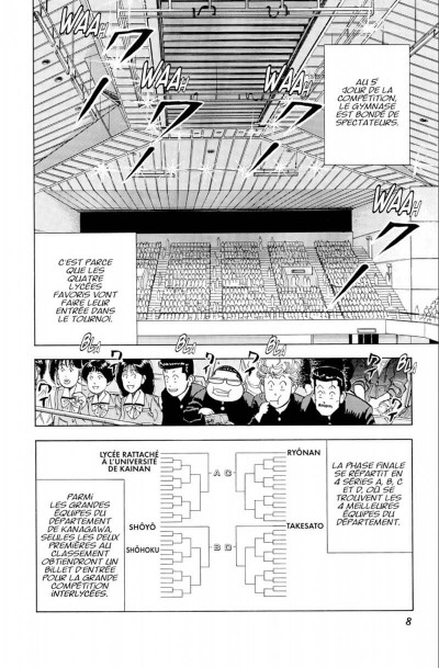 Page 8 Slam dunk - star edition tome 7