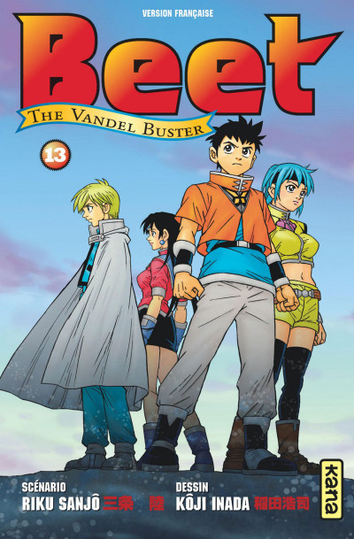 Couverture Beet the vandel buster tome 13