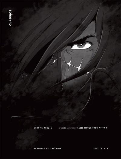 Couverture Capitaine Albator - mémoires de l'Arcadia tome 1 (éd. collector)