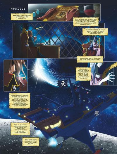 Page 3 Capitaine Albator - mémoires de l'Arcadia tome 1 (éd. collector)
