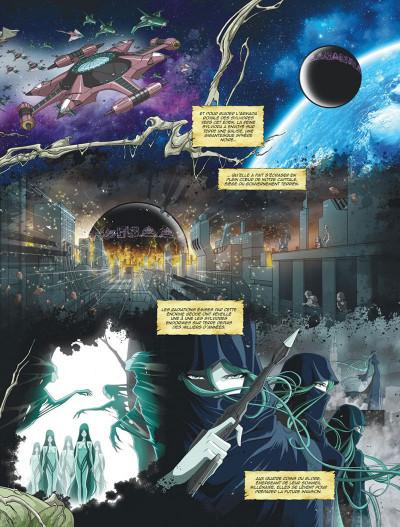 Page 5 Capitaine Albator - mémoires de l'Arcadia tome 1 (éd. collector)