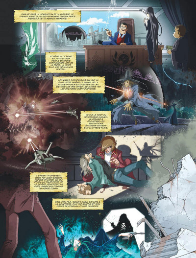 Page 6 Capitaine Albator - mémoires de l'Arcadia tome 1 (éd. collector)