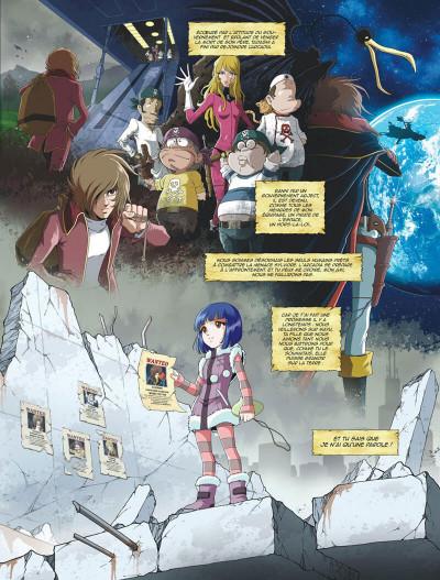 Page 7 Capitaine Albator - mémoires de l'Arcadia tome 1 (éd. collector)
