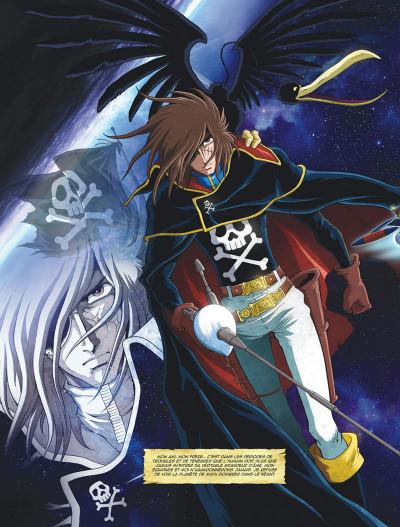 Page 8 Capitaine Albator - mémoires de l'Arcadia tome 1 (éd. collector)