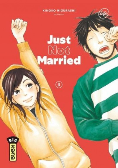 Couverture Just not married tome 3