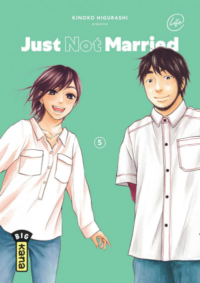 Couverture Just not married tome 5