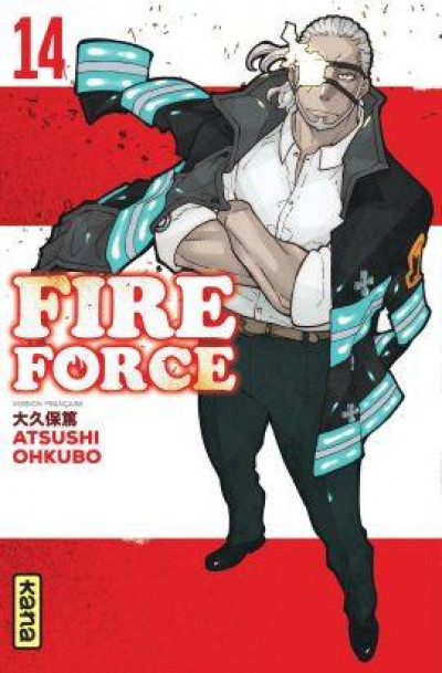 Couverture Fire force tome 14