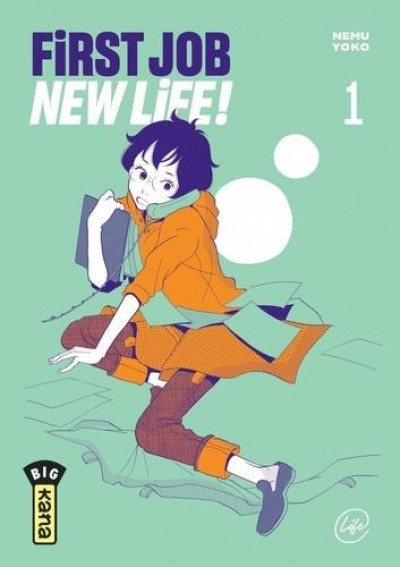 Couverture First job new life ! tome 1