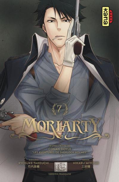 Couverture Moriarty tome 7