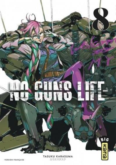 Couverture No guns life tome 8