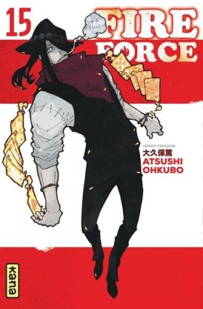 Couverture Fire force tome 15
