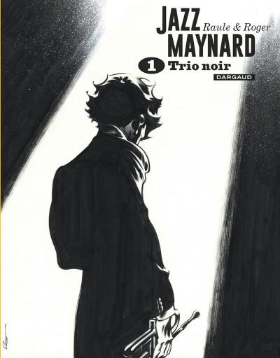 Couverture Jazz Maynard - intégrale n&b tome 1