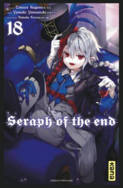 Couverture Seraph of the end tome 18