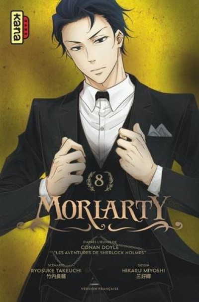 Couverture Moriarty tome 8