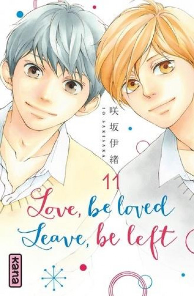 Couverture Love, be loved - Leave, be left tome 11