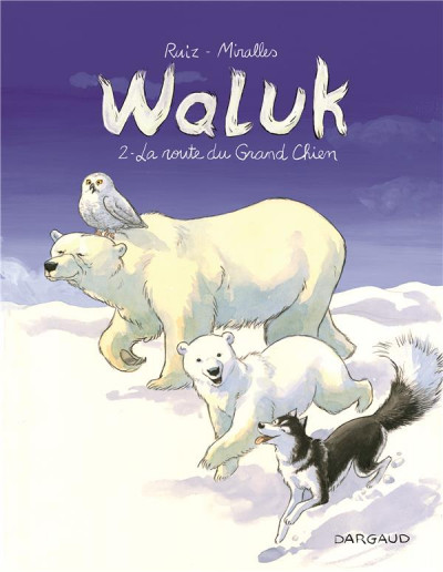 Couverture Waluk tome 2