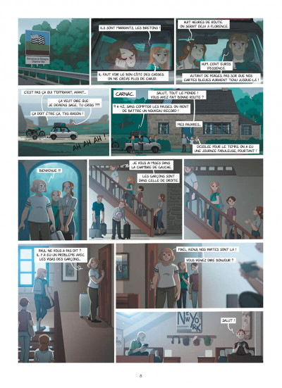 Page 8 Emma et Capucine tome 5