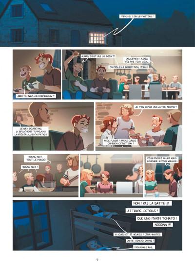 Page 9 Emma et Capucine tome 5