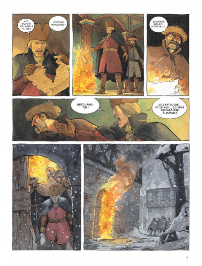 Page 7 Le scorpion tome 13