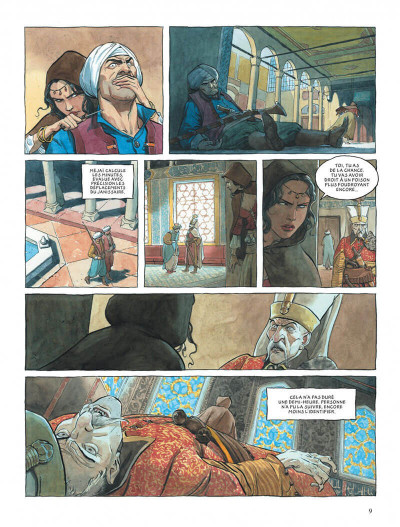 Page 9 Le scorpion tome 13