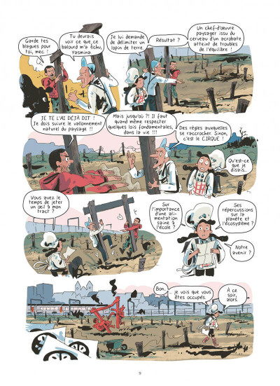 Page 9 Yasmina tome 1