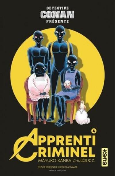 Couverture Détective Conan - Apprenti criminel tome 4