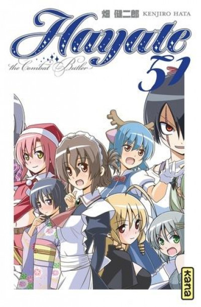 Couverture Hayate the combat butler tome 51