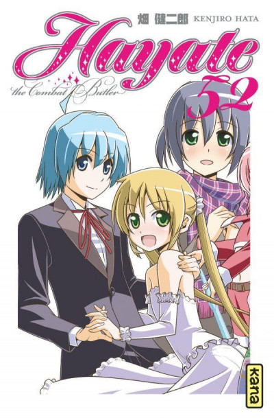 Couverture Hayate the combat butler tome 52