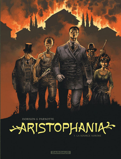 Couverture Aristophania tome 3