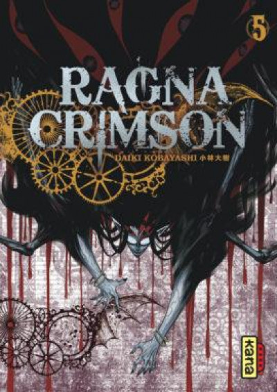 Couverture Ragna crimson tome 5
