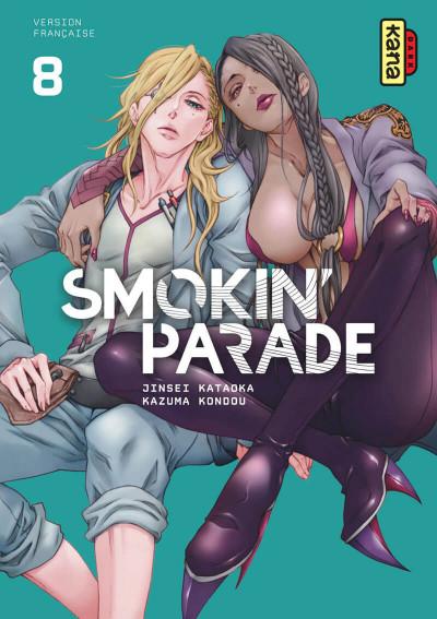 Couverture Smokin' parade tome 8