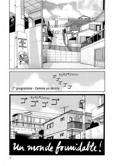 Page 5 Un monde formidable - intégrale