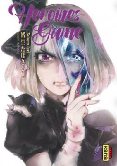 Couverture Heroines game tome 3