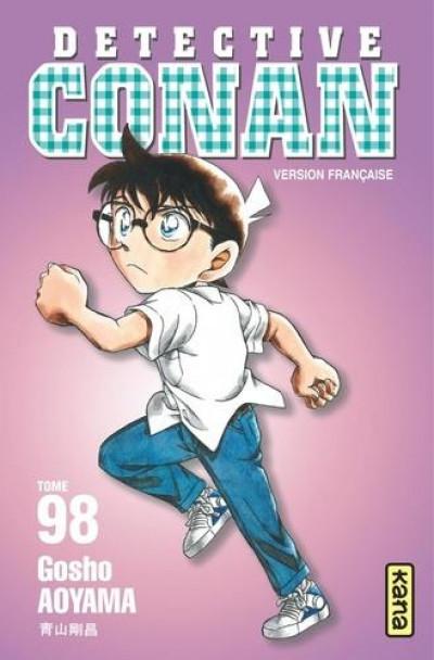 Couverture Détective Conan tome 98