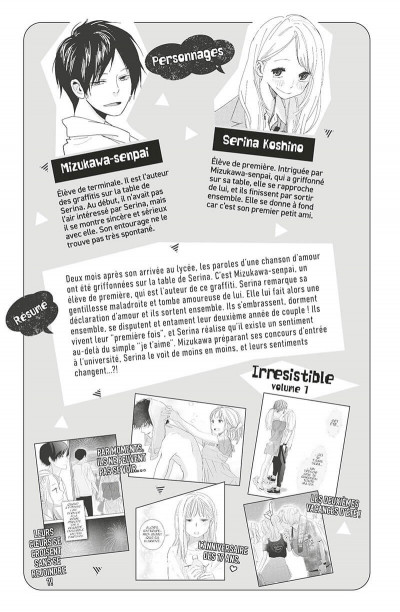 Page 4 Irrésistible tome 8