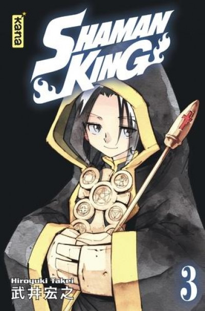 Couverture Shaman king - star edition tome 3