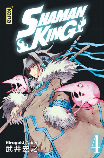 Couverture Shaman king - star édition tome 4